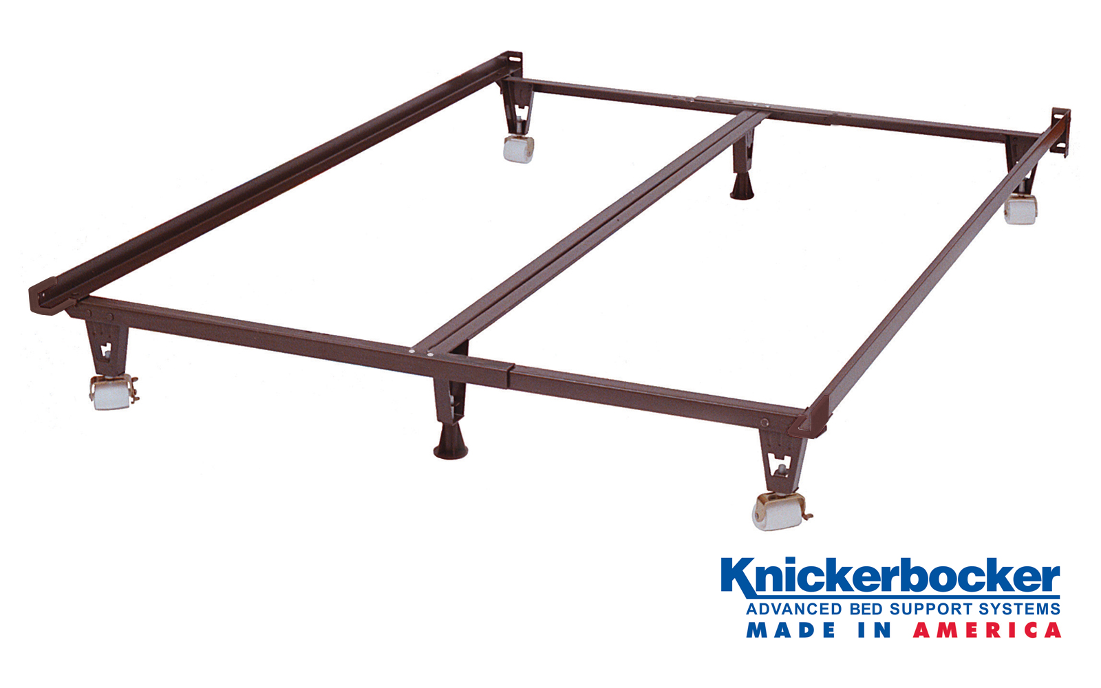 The Ultima Bed Frame With Wheels Knickerbocker Bed Frame Company
