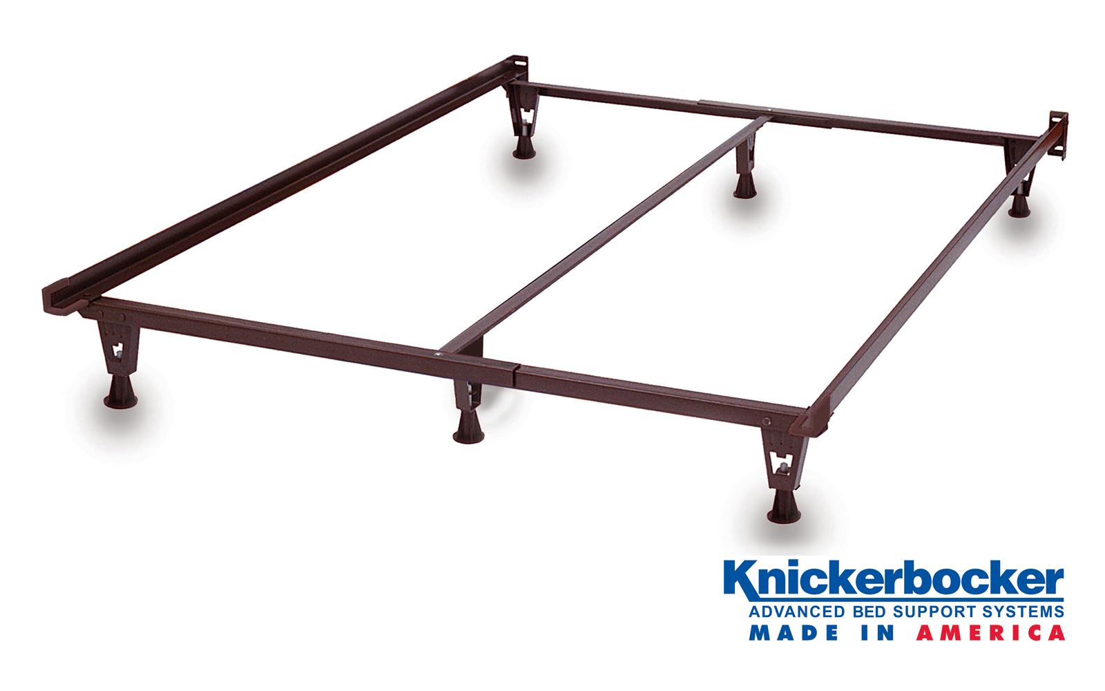 Heavy Duty King Bed Frame On Glides Knickerbocker Bed Frame