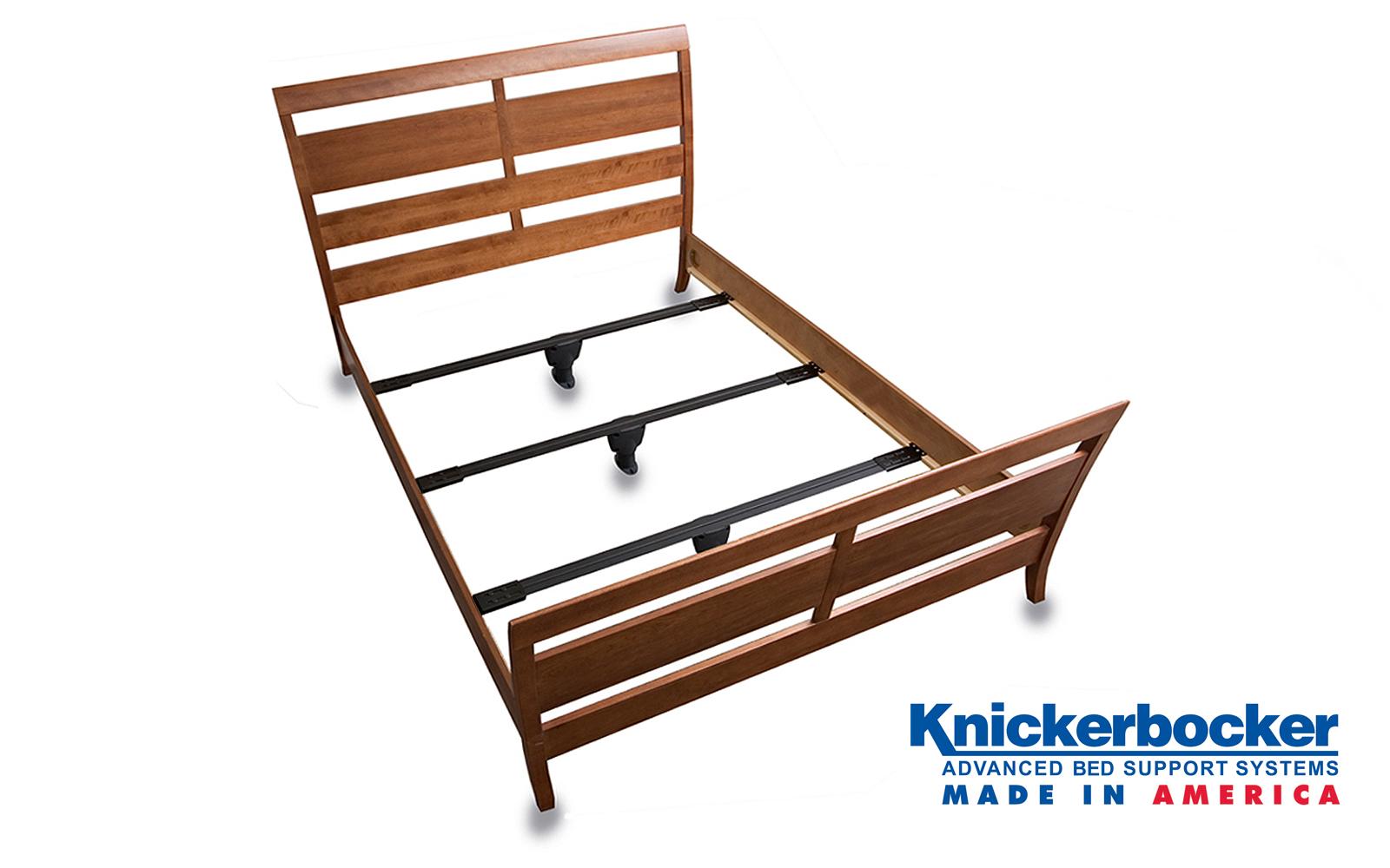 Bedbeam Steel Slat System Knickerbocker Bed Frame