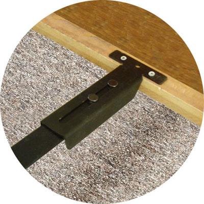 Lazarbeam Steel Slat System Knickerbocker Bed Frame